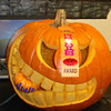 Pumpkin Carving! : 1st Place at Redback Networks pumpkin carving contest. Yes, it's chomping on a Cisco pumpkin!